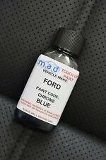 FORD CHROME BLUE METALLIC PAINT TOUCH UP KIT 30ML FIESTA FOCUS KUGA EDGE ST ETC