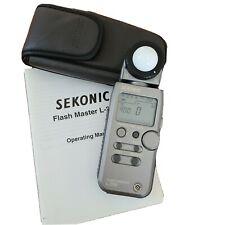 Sekonic L-358 flash master light meter