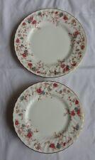 Vintage Minton Ancestral Side Plates x 4 Diameter 20 cm & Cake plate 23 cm