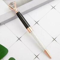 Big Strass Top Kugelschreiber Metall Shell Schreibstifte S6K4 Briefpapier k Q3P1