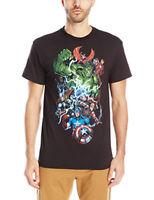 Marvel Comics Group Shot Avengers Hulk Thor Ironman T Shirt BIG & TALL 3XL 4XL