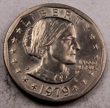 1979-P *Wide Rim* Susan B Anthony Dollar (SBA) // Uncirculated // 1 Coin.