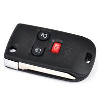 3 Tasten Klappschlüssel Gehäuse für Ford Mazda Autoschlüssel fernbedienung key