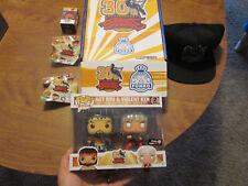 FUNKO POP Street Fighter 30th Anniversary HOT RYU & VIOLENT KEN,HAT BOX GAMESTOP