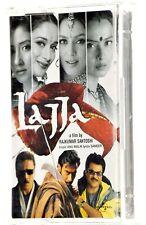 LAJJA Indian Hindi-language FILM Rare Cassette Tape Album - Boxed & Complete