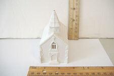 ~MARX~WHITE PLASTIC CHURCH ~~