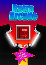 Retro arcade per PC, ottimo DVD più di 1000 GIOCHI ARCADE CLASSIC/MAME