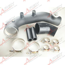 Intake Turbo Charge Pipe Cooling Kit For BMW N54 E88 E90 E92 135i 335i Black
