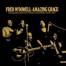 Fred McDowell Amazing Grace GOLD VINYL LP Record & Bonus MP3 CD! gospel blues!!!