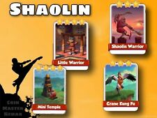 Full New Shaolin Set ( Fast Delivery ) Coin Master Cards