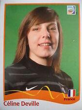 Panini 86 Celine Deville Frankreich FIFA Women's WM 2011 Germany