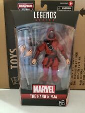 Marvel Legends 2020 Into the Spider-Verse THE HAND NINJA Stilt-Man BAF IN STOCK!