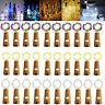 10pcs Wine Bottle Fairy String Lights 20 LED Battery Cork For Party Xmas Wedding