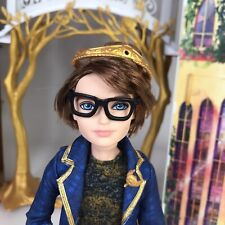 MATTEL EVER AFTER HIGH DEXTER CHARMING WITH STAND & BACKPACK