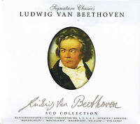 Signature Classics LUDWIG VAN BEETHOVEN 5CD-Box Collection ZYX Music 2008