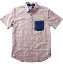 Analog Richmond Short Sleeve Shirt (M) Khaki