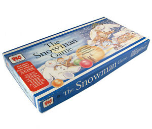 Vintage The Snowman Game - PIC Board Game 1987 - Complete in Box