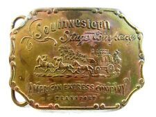 Southwestern Stage Company  American Express Belt Buckle