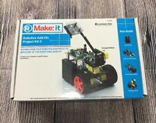New Radioshack Make: it Robotics Add On Project Kit 2 Catapult Robot Kit 2770170