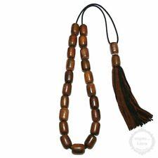 Bull Horn 21 beads 10x14mm Komboloi - Authentic Handmade Worry Beads - Rosary