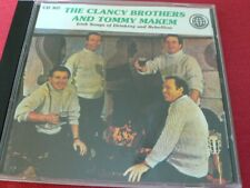 The Clancy Brothers & Tommy Makem CD Irish Songs of Drinking & rebellion