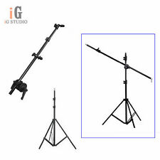 Photo Studio kit Reflector bracket arm 120cm + 195cm light stand