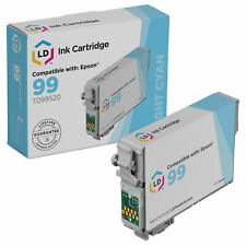 LD Reman T099520 for Epson T099 99 Light Cyan Ink Cartridge Artisan 700 800 710