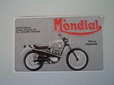 advertising Pubblicità 1976 MOTO MONDIAL 125 REGOLARITA'