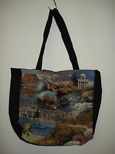 New Mill Street Design Tapestry Canvas Tote Bag Alabama