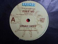 """Uriah Heep """"Free Me"""" Classic Hit Oz 7"""""""