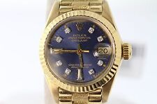 ROLEX PRESIDENTIAL OYSTER PERPETUAL 26MM 18K GOLD AND DIAMONDS