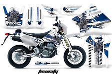 Dirt Bike Graphics Kit MX Decal Wrap For Suzuki DRZ400SM 2000-2018 TOXICITY U W