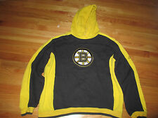 Reebok BOSTON BRUINS Pull-Over Embroidered (MED) Hooded Sweatshirt