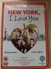 Andy Garcia Natalie Portman NEW YORK I LOVE YOU ~ 2008 Portmanteaux Film UK DVD