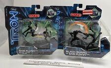Disney TRON Legacy PVC Sam Flynn Clu Black Guard MOC Lot