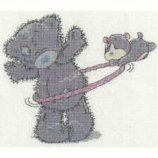 DMC TATTY TEDDY ME TO YOU MY BLUE NOSE FRIENDS HULA HOOP CROSS STITCH KIT