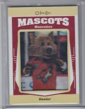 2017-18 O-PEE-CHEE THE MASCOTS HOWLER PATCH
