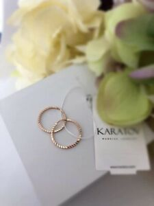 russian gold 585 Small earrings