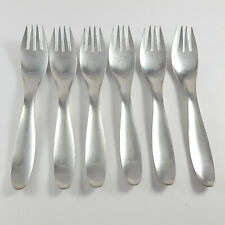 Lauffer Finland DESIGN 9 Stainless Flatware Set of 6 Salad Forks (Towle)