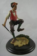 Country Artists - Stratford Editions - Golfer - Bunkered Ca934