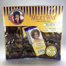 MilkyWay 100% Human Hair ShortCut Series New Deep 3 Piece P27/33/30