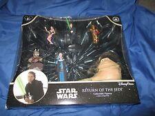 STAR WARS Disney PVC Figure/Figurine Playset Set ~SLAVE LEIA Carrie Fisher/Luke