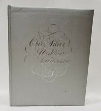 Our Silver Wedding Anniversary 25 Photo Album Scrapbook Gibson New Old Stock