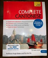 Teach Yourself Complete Cantonese Beginner-Intermediate Course with CD Paperback