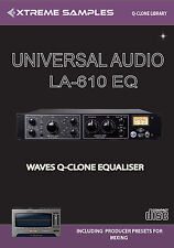 Xtreme Samples Universal Audio LA-610 EQ Waves Q-Clone Library