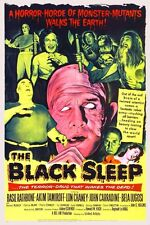 The Black Sleep Vintage Lon Chaney 1956 Horror Film Movie Poster Art Print A3