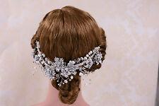 Copricapo Da Sposa Perle Cristallo Capelli Sposa Copricapo Fascia Per Capelli Micro - 1 Pezzo