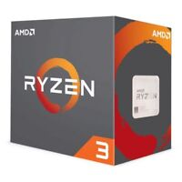 AMD Ryzen 3 1200 CPU with Wraith Cooler, AM4, 3.1GHz (3.4 Turbo), Quad Core, 65W