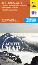 THE TROSSACHS ACTIVE Map - OL 46 - OS  Ordnance Survey - INC. MOBILE DOWNLOAD