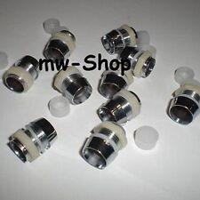 1000 Leds Atornillable / Monturas Para 10mm Leds Aspecto de Metal / Soporte LED